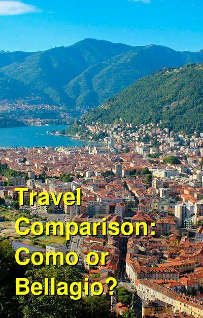 Como vs. Bellagio Travel Comparison