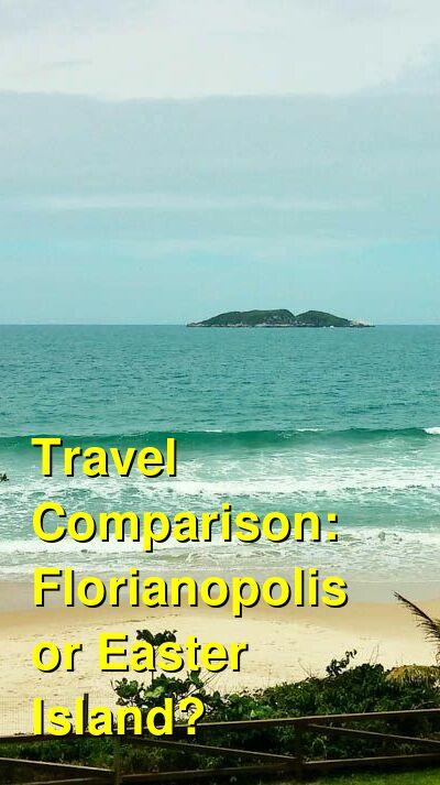 Florianopolis vs. Easter Island Travel Comparison