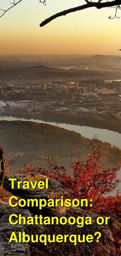 Chattanooga vs. Albuquerque Travel Comparison