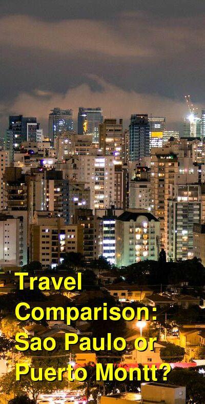Sao Paulo vs. Puerto Montt Travel Comparison