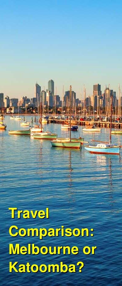 Melbourne vs. Katoomba Travel Comparison