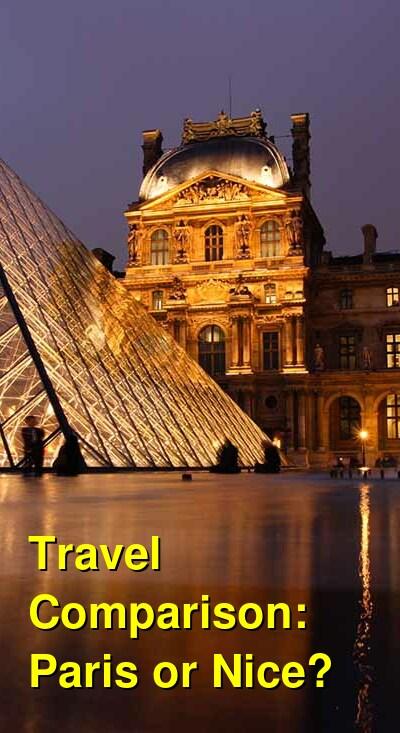 Paris vs. Nice Travel Comparison