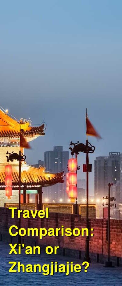 Xi'an vs. Zhangjiajie Travel Comparison