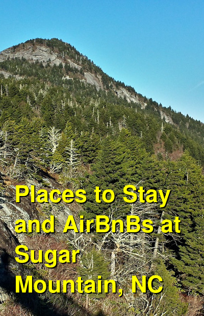 Places to Stay and AirBnBs at Sugar Mountain, NC | Budget Your Trip