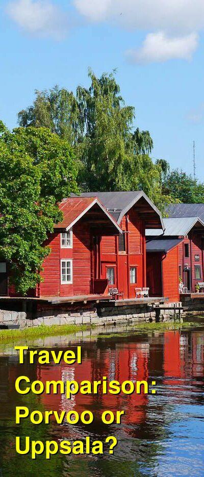 Porvoo vs. Uppsala Travel Comparison