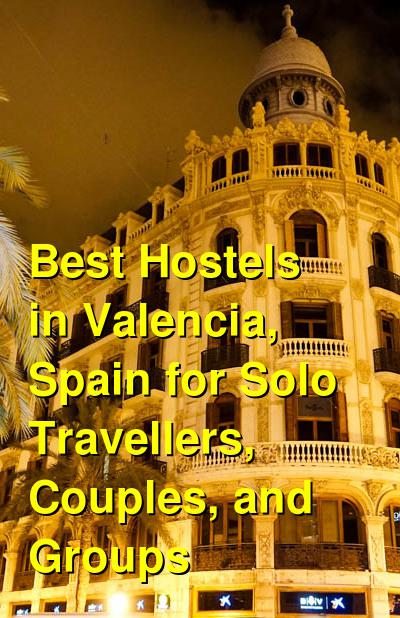 Best Hostels in Valencia, Spain for Solo Travellers, Couples, and Groups | Budget Your Trip