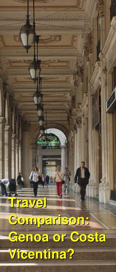 Genoa vs. Costa Vicentina Travel Comparison