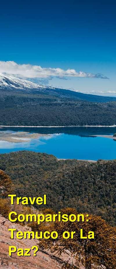 Temuco vs. La Paz Travel Comparison