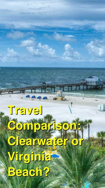 Clearwater vs. Virginia Beach Travel Comparison
