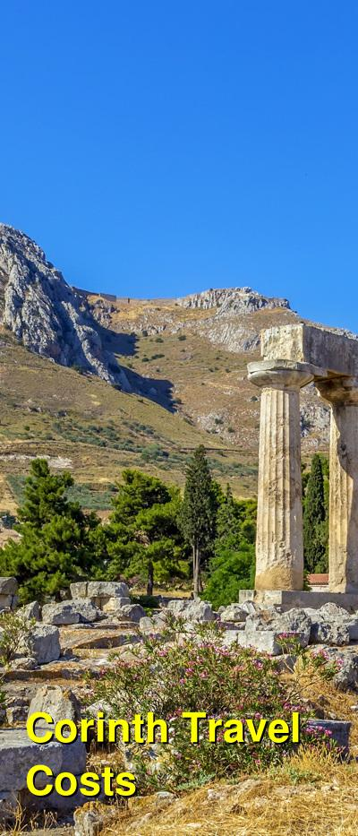 Corinth Travel Cost - Average Price of a Vacation to Corinth: Food & Meal Budget, Daily & Weekly Expenses | BudgetYourTrip.com