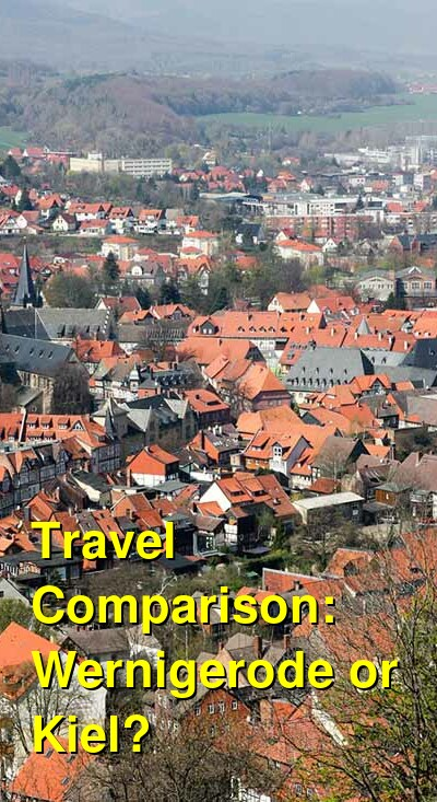 Wernigerode vs. Kiel Travel Comparison