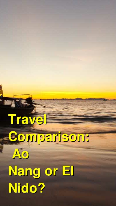 Ao Nang vs. El Nido Travel Comparison