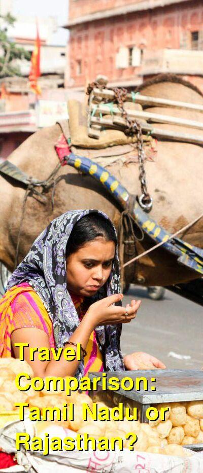 Tamil Nadu vs. Rajasthan Travel Comparison