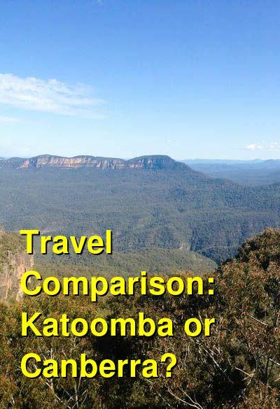 Katoomba vs. Canberra Travel Comparison