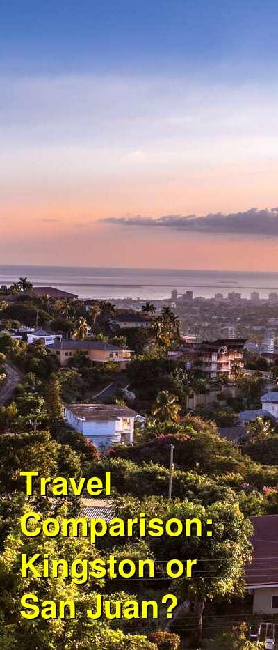 Kingston vs. San Juan Travel Comparison