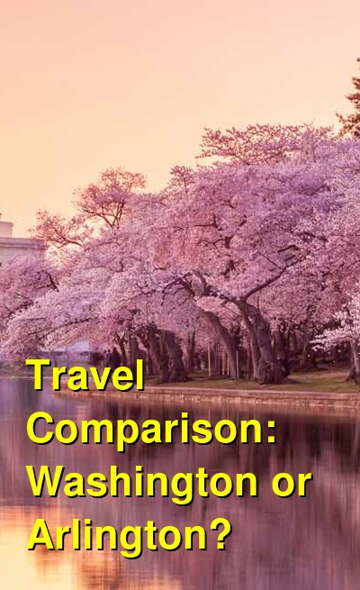 Washington vs. Arlington Travel Comparison