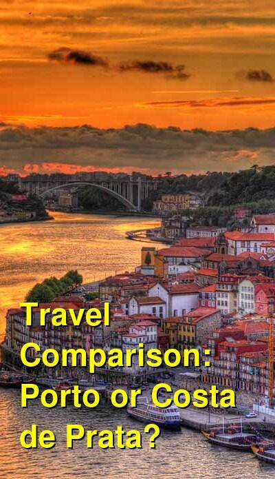 Porto vs. Costa de Prata Travel Comparison