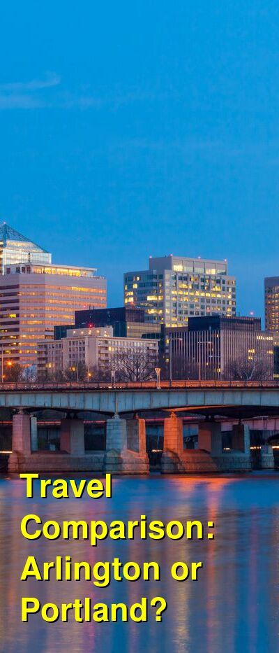 Arlington vs. Portland Travel Comparison