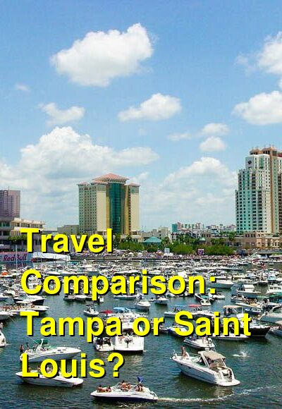 Tampa vs. Saint Louis Travel Comparison