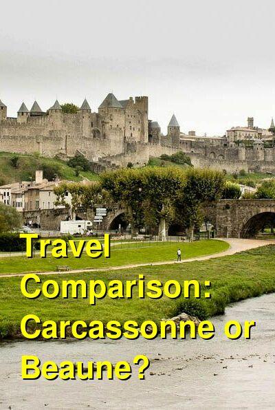 Carcassonne vs. Beaune Travel Comparison
