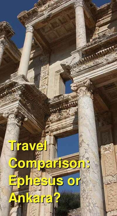 Ephesus vs. Ankara Travel Comparison