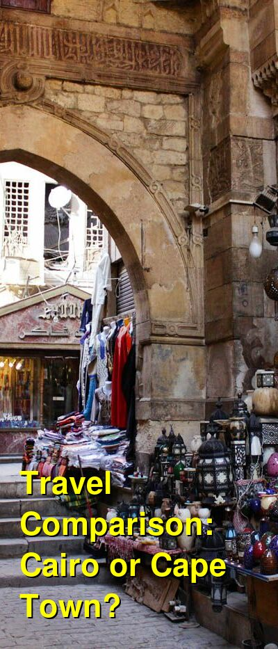 Cairo vs. Cape Town Travel Comparison