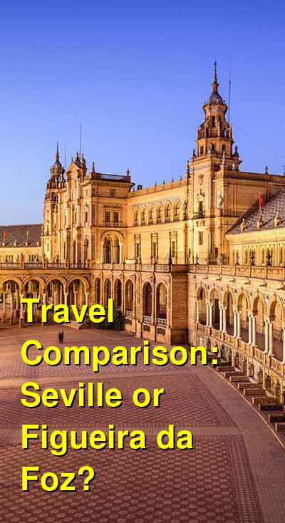 Seville vs. Figueira da Foz Travel Comparison