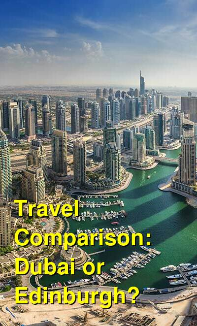 Dubai vs. Edinburgh Travel Comparison