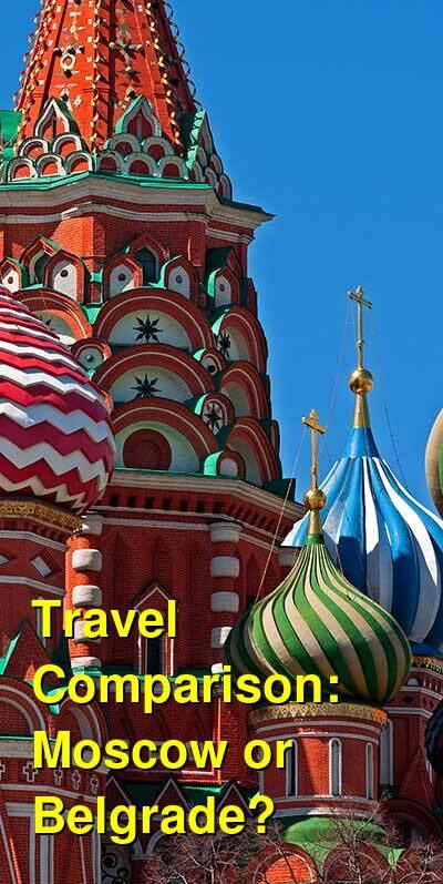 Moscow vs. Belgrade Travel Comparison