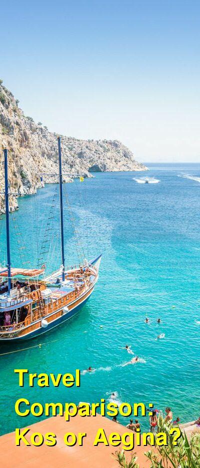 Kos vs. Aegina Travel Comparison