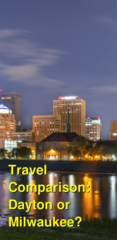 Dayton vs. Milwaukee Travel Comparison