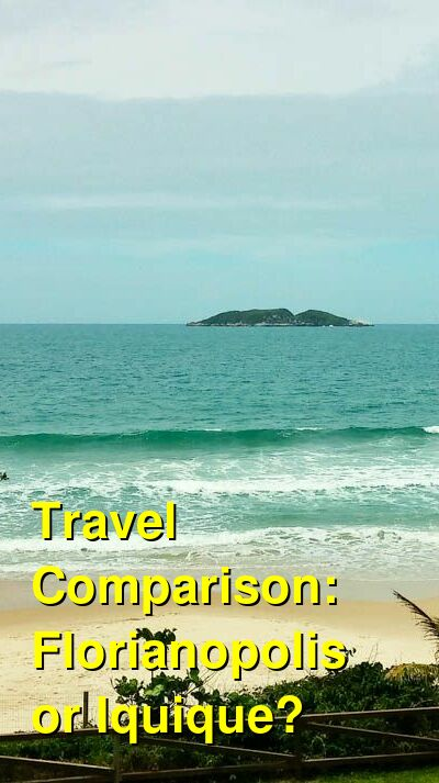 Florianopolis vs. Iquique Travel Comparison