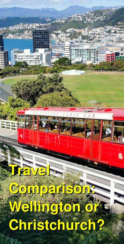 Wellington vs. Christchurch Travel Comparison