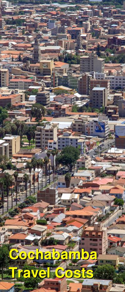 Cochabamba Travel Cost - Average Price of a Vacation to Cochabamba: Food & Meal Budget, Daily & Weekly Expenses | BudgetYourTrip.com