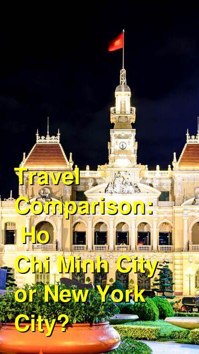 Ho Chi Minh City vs. New York City Travel Comparison