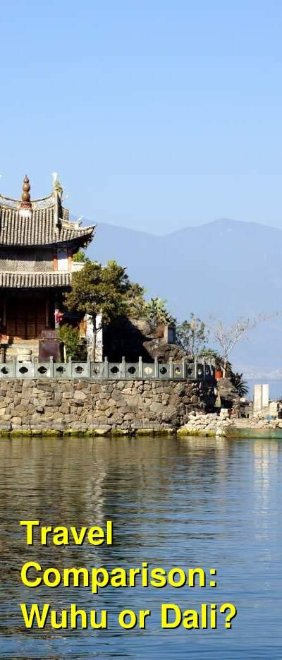 Wuhu vs. Dali Travel Comparison