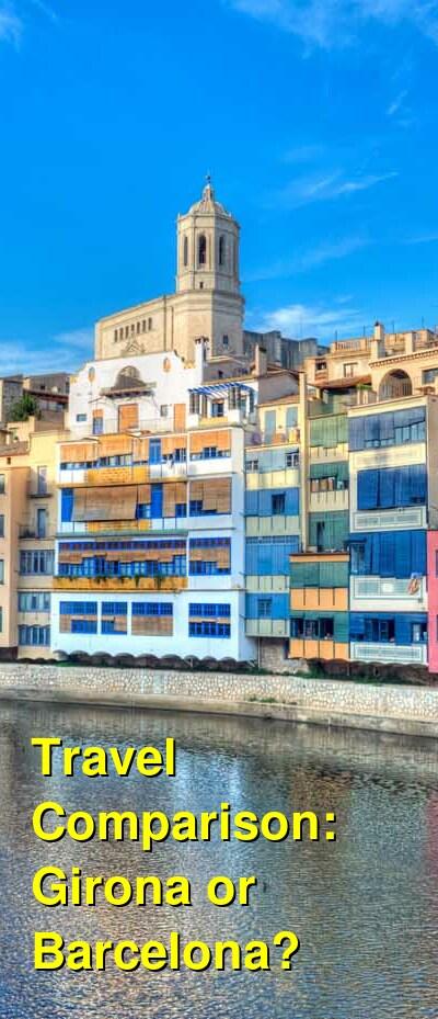 Girona vs. Barcelona Travel Comparison