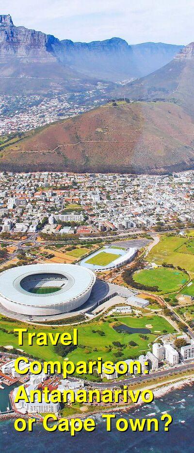 Antananarivo vs. Cape Town Travel Comparison