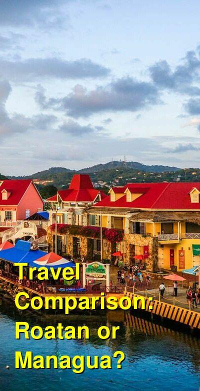 Roatan vs. Managua Travel Comparison
