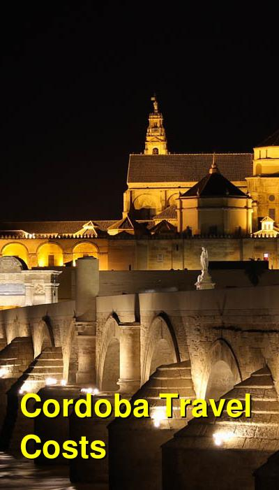Cordoba Travel Cost - Average Price of a Vacation to Cordoba: Food & Meal Budget, Daily & Weekly Expenses | BudgetYourTrip.com