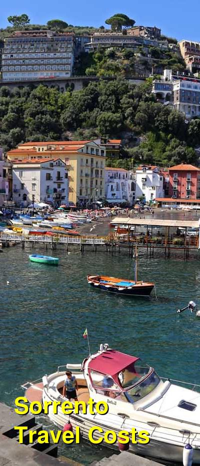 Sorrento Travel Costs & Prices - Ferries, Beaches & the Circumvesuviana | BudgetYourTrip.com