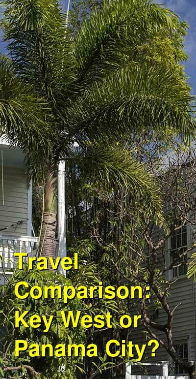 Key West vs. Panama City Travel Comparison