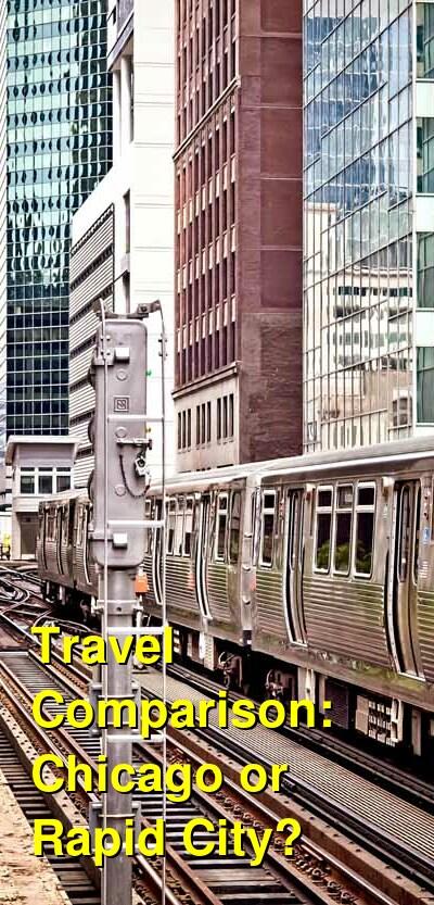 Chicago vs. Rapid City Travel Comparison