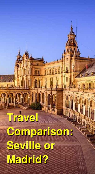 Seville vs. Madrid Travel Comparison