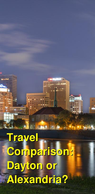 Dayton vs. Alexandria Travel Comparison