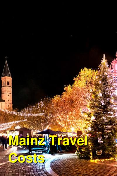 Mainz Travel Cost - Average Price of a Vacation to Mainz: Food & Meal Budget, Daily & Weekly Expenses | BudgetYourTrip.com
