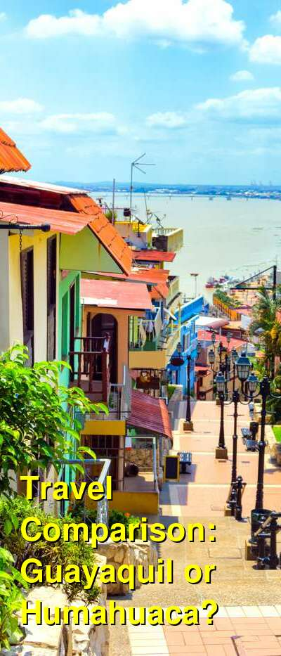 Guayaquil vs. Humahuaca Travel Comparison