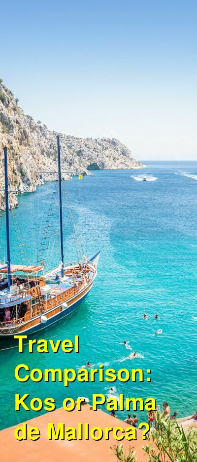 Kos vs. Palma de Mallorca Travel Comparison