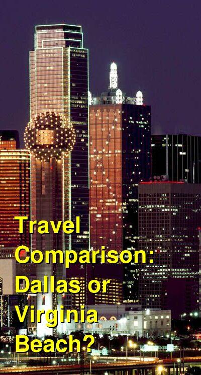 Dallas vs. Virginia Beach Travel Comparison