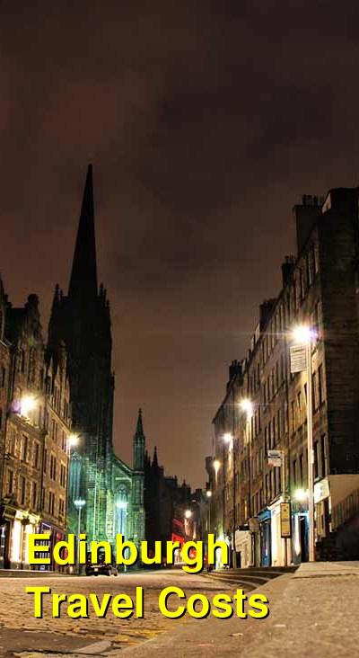 Edinburgh Travel Costs & Prices - Castles, Cathedrals & Pubs | BudgetYourTrip.com